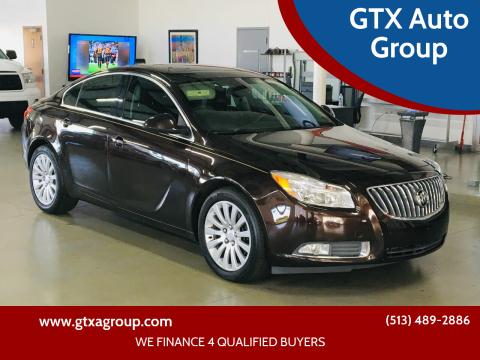 2011 Buick Regal for sale at GTX Auto Group in West Chester OH