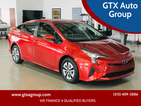 2017 Toyota Prius for sale at GTX Auto Group in West Chester OH
