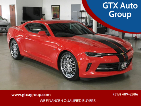 2018 Chevrolet Camaro for sale at GTX Auto Group in West Chester OH