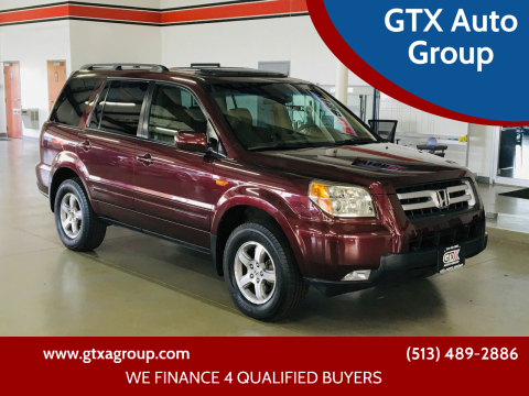 2007 Honda Pilot for sale at GTX Auto Group in West Chester OH