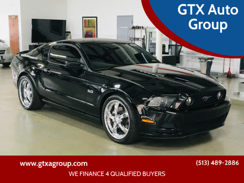 2013 Ford Mustang for sale at GTX Auto Group in West Chester OH