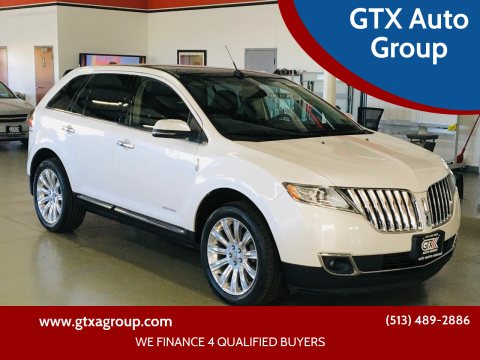 2012 Lincoln MKX for sale at GTX Auto Group in West Chester OH