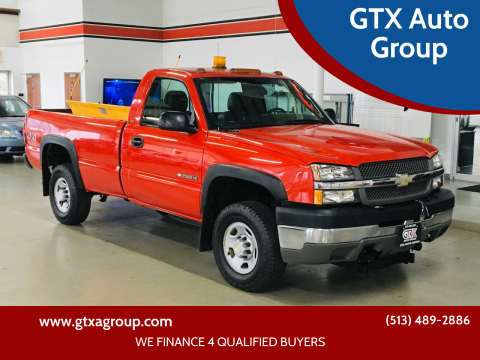 2004 Chevrolet Silverado 2500HD for sale at GTX Auto Group in West Chester OH