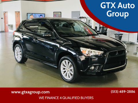 2011 Mitsubishi Outlander Sport for sale at GTX Auto Group in West Chester OH