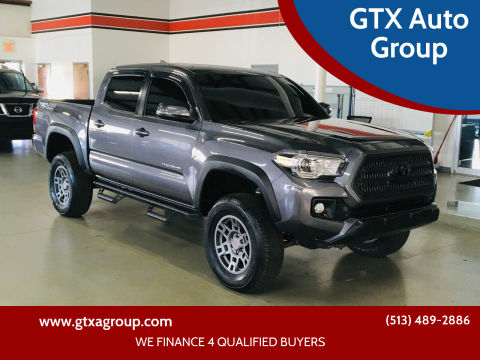 2017 Toyota Tacoma for sale at GTX Auto Group in West Chester OH
