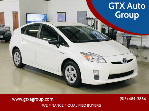 2010 Toyota Prius for sale at GTX Auto Group in West Chester OH
