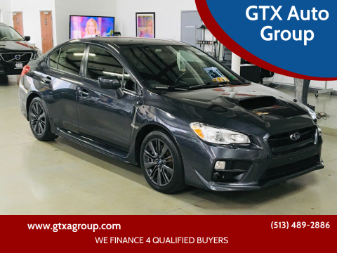 2017 Subaru WRX for sale at GTX Auto Group in West Chester OH