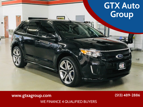 2013 Ford Edge for sale at GTX Auto Group in West Chester OH