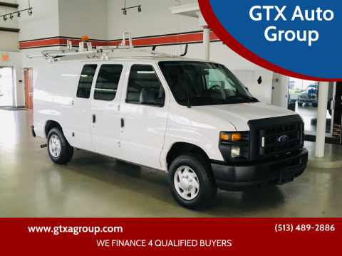 2013 Ford E-Series Cargo for sale at GTX Auto Group in West Chester OH