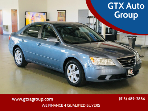 2010 Hyundai Sonata for sale at GTX Auto Group in West Chester OH
