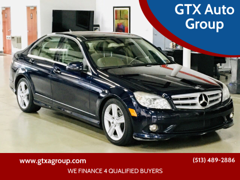 2010 Mercedes-Benz C-Class for sale at GTX Auto Group in West Chester OH