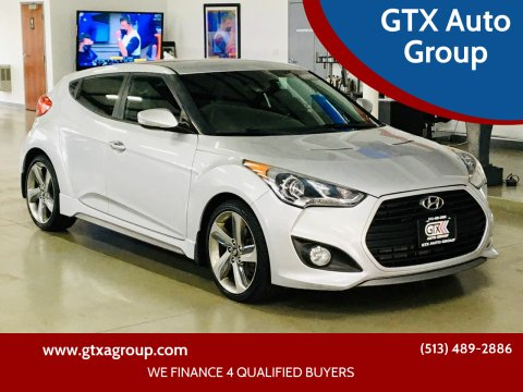 2013 Hyundai Veloster for sale at GTX Auto Group in West Chester OH