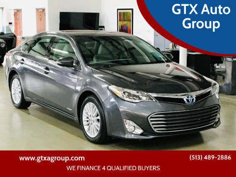 2014 Toyota Avalon Hybrid for sale at GTX Auto Group in West Chester OH