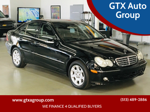 2005 Mercedes-Benz C-Class for sale at GTX Auto Group in West Chester OH