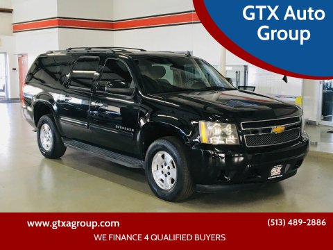 2012 Chevrolet Suburban for sale at GTX Auto Group in West Chester OH