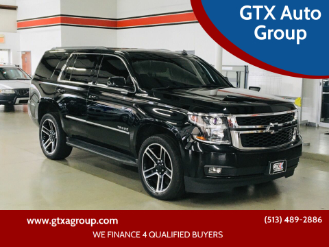 2015 Chevrolet Tahoe for sale at GTX Auto Group in West Chester OH