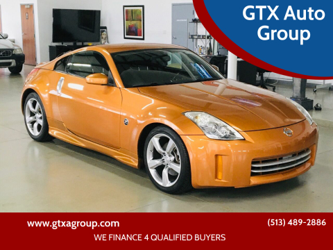 2006 Nissan 350Z for sale at GTX Auto Group in West Chester OH