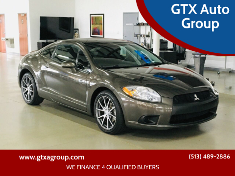 2012 Mitsubishi Eclipse for sale at GTX Auto Group in West Chester OH
