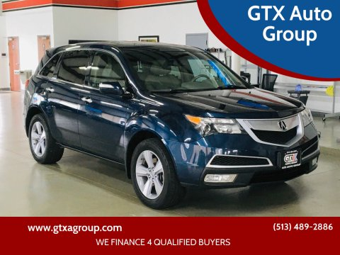 2012 Acura MDX for sale at GTX Auto Group in West Chester OH
