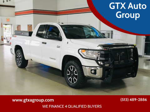 2015 Toyota Tundra for sale at GTX Auto Group in West Chester OH
