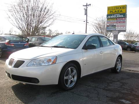 2008 Pontiac G6 for sale in Matthews, NC