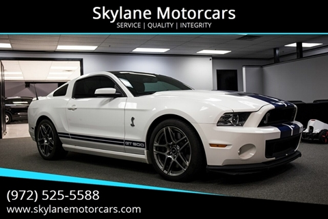 2013 Ford Shelby GT500 for sale in Carrollton, TX