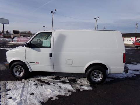 2001 Chevrolet Astro Cargo For Sale In Racine WI