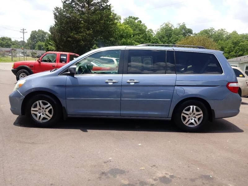 2007 Honda Odyssey for sale at The Car Lot in Bessemer City NC