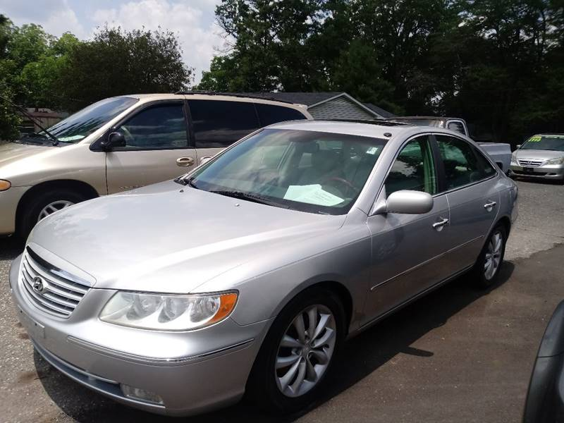 2006 Hyundai Azera For Sale At The Car Lot In Bessemer City NC
