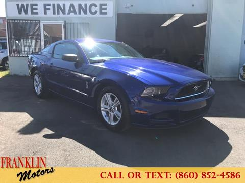 2014 Ford Mustang for sale in Hartford, CT