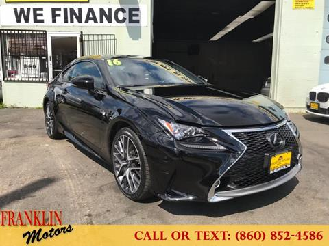 2016 Lexus RC 300 for sale in Hartford, CT