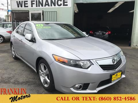 2014 Acura TSX for sale in Hartford, CT