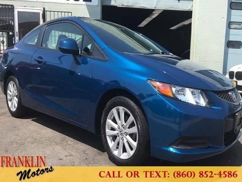 2012 Honda Civic for sale in Hartford, CT