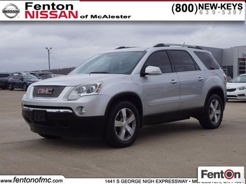 2012 GMC Acadia for sale in Mcalester, OK