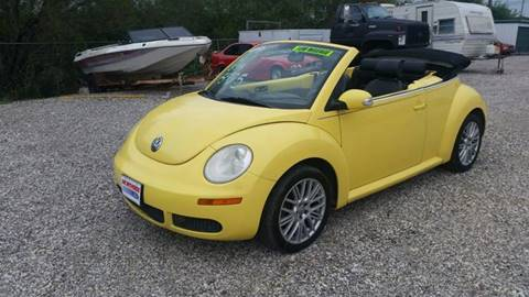 2007 Volkswagen New Beetle for sale at Al's Motors Auto Sales LLC in San Antonio TX