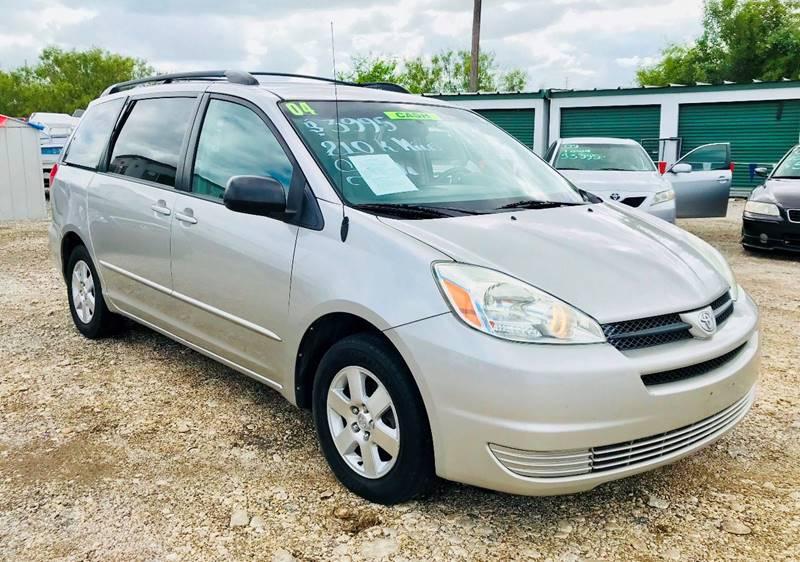 2004 Toyota Sienna For Sale At Alu0027s Motors Auto Sales LLC In San Antonio TX