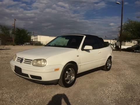 2002 Volkswagen Cabrio for sale at Al's Motors Auto Sales LLC in San Antonio TX