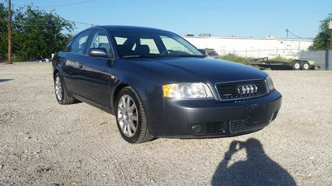 2004 Audi A6 for sale at Al's Motors Auto Sales LLC in San Antonio TX