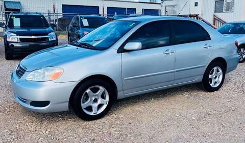2007 Toyota Corolla for sale at Al's Motors Auto Sales LLC in San Antonio TX