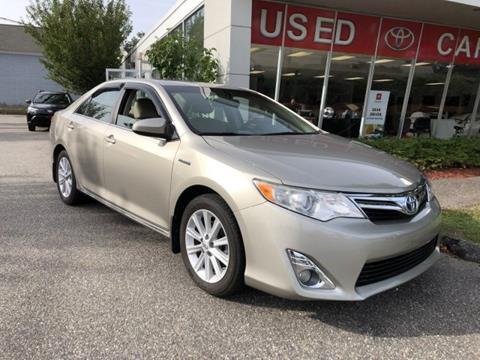 2013 Toyota Camry Hybrid for sale in Torrington, CT