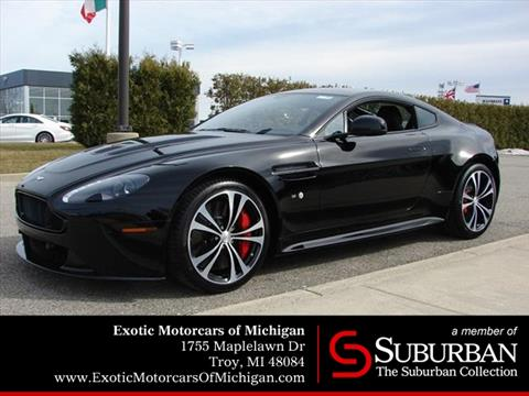Aston Martin V Vantage S For Sale In Michigan Carsforsalecom - Aston martin vantage v12