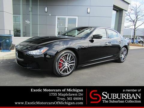 2017 Maserati Ghibli for sale in Troy, MI