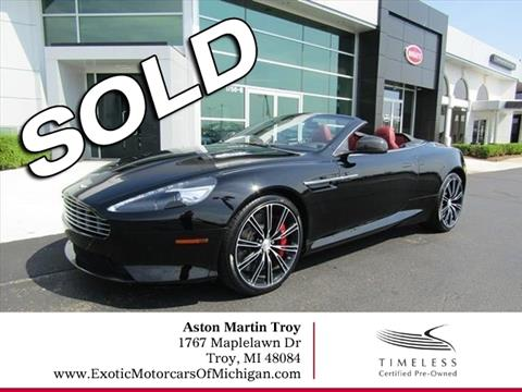 Used Aston Martin DB For Sale In Lumberton NJ Carsforsalecom - Aston martin db9 pre owned