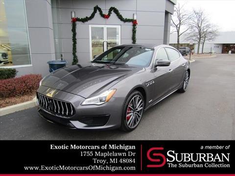 2019 Maserati Quattroporte for sale in Troy, MI