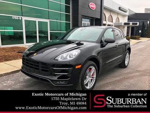 2015 Porsche Macan for sale in Troy, MI