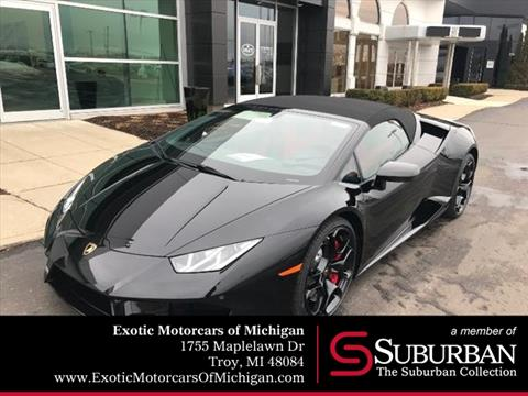 New Lamborghini Huracan For Sale In Houston Tx Carsforsale Com