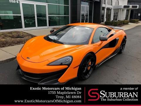 2019 McLaren 600LT for sale in Troy, MI