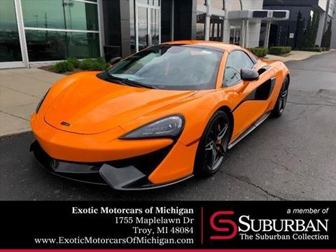 2019 McLaren 570S Spider for sale in Troy, MI