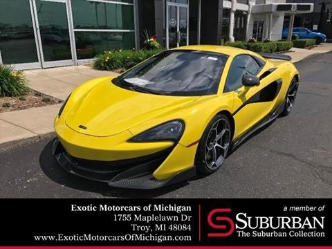 2020 McLaren 600LT Spider for sale in Troy, MI