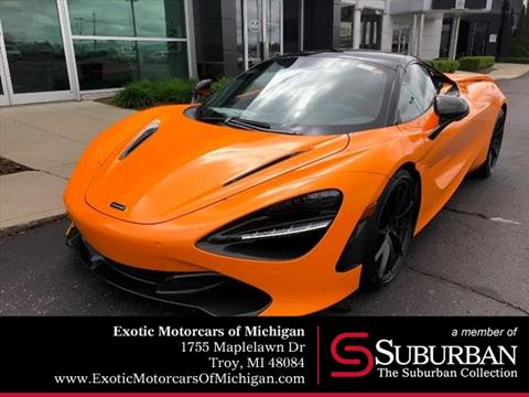 2020 McLaren 720S Spider for sale in Troy, MI